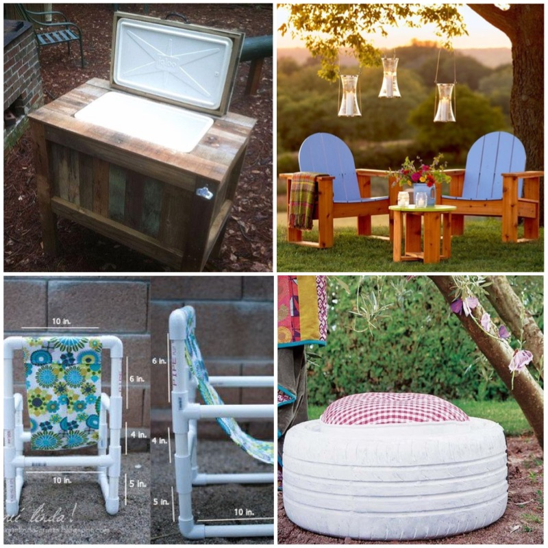Wondrous 22 Easy And Fun Diy Outdoor Furniture Ideas Full Creative Home Interior And Landscaping Ologienasavecom
