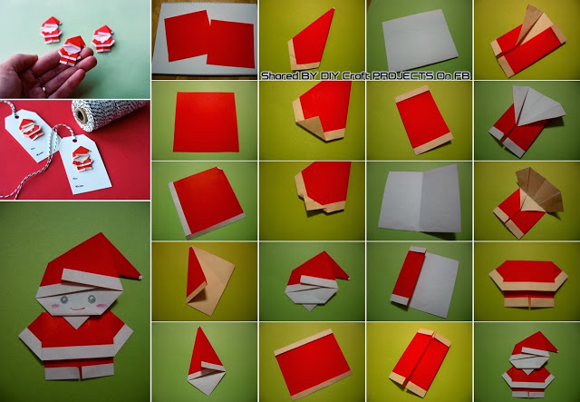 Diy Origami Santa Full Creative Ideas