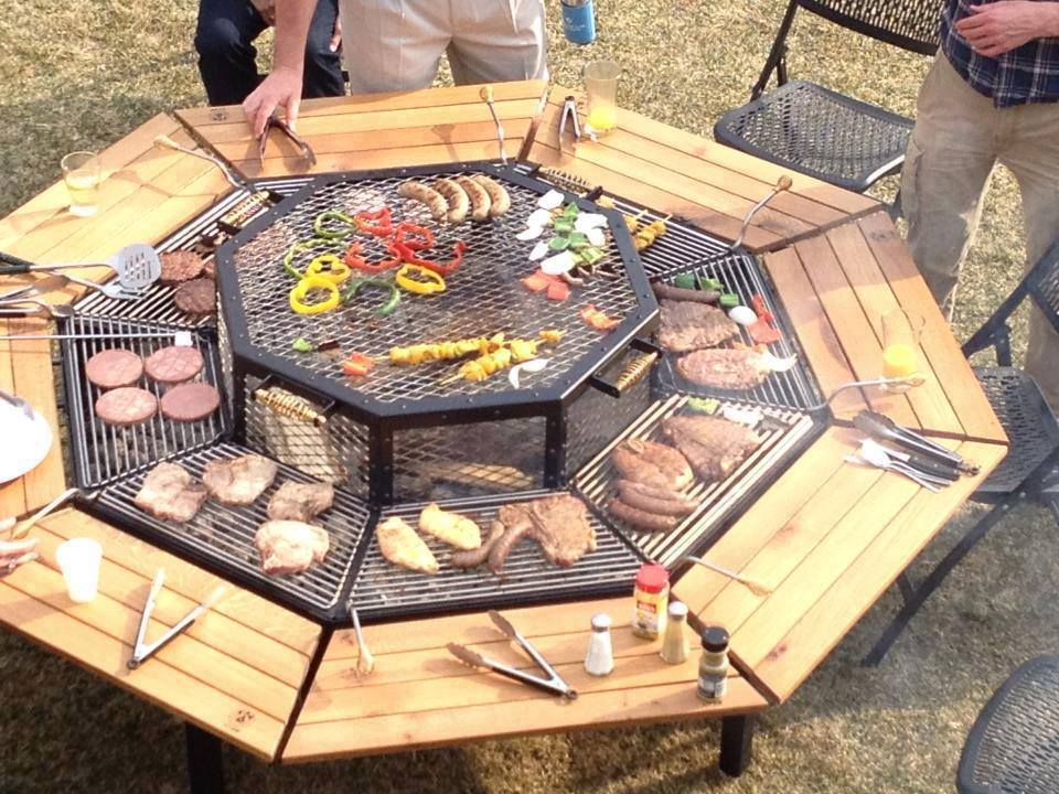 3-In-1-Fire-Pit-Grill-And-Table